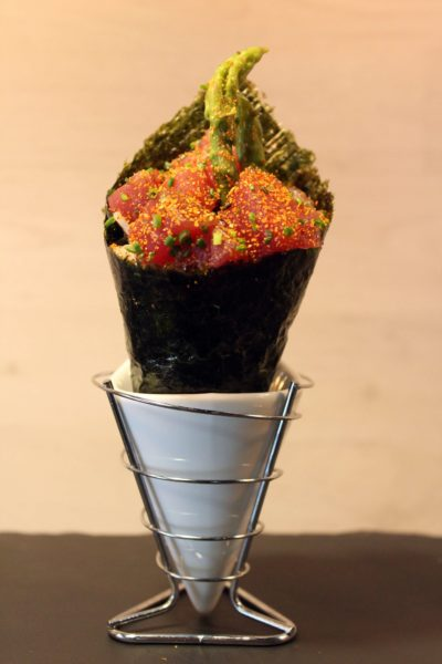 temaki atun spacy